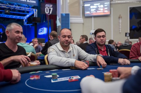 2013 PokerStars.com UKIPT Isle of Man Dan 1b: Mark Lane je Vodeći