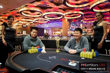 2013 PokerStars.net APPT Macau ACOP Main Event: Tang i Jung powalczą o tytuł