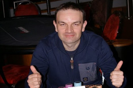 Matthew Davenport Defeats Paul Zimbler Heads Up to win the DTD £300 Deepstack