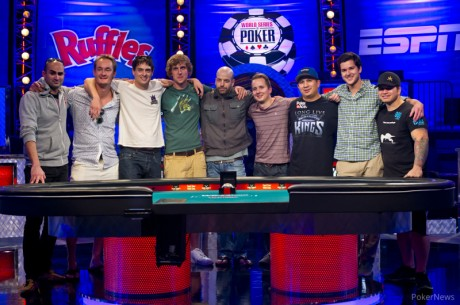 The 2013 World Series of Poker Main Event Finalni Sto Počinje Večeras!