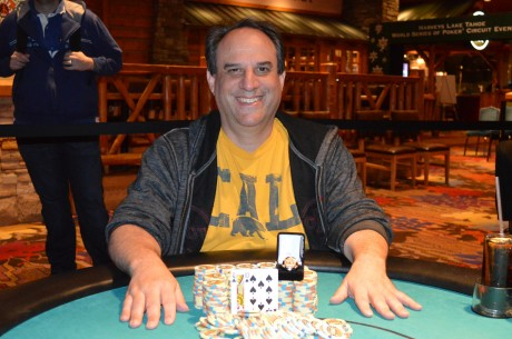 Dan Harmetz Wins WSOP Circuit Harvey's Lake Tahoe Main Event for $128,699