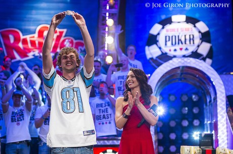 Ryan Riess Wins the 2013 World Series of Poker Main Event for $8,3M