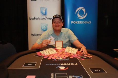 Jesse Spooner Wins PokerNews Mid-States Poker Tour Meskwaki for $81,060
