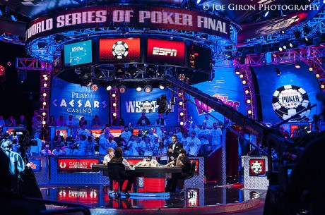 2013 World Series of Poker Main Event Final Table Foto Blog