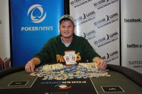 Josh Reichard Wins PokerNews Mid-States Poker Tour Ho-Chunk for $78,003