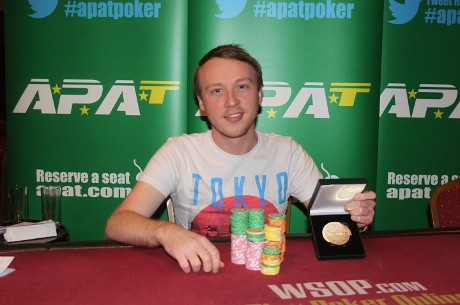 Paul McHenry Wins the APAT Scottish National Poker Championship