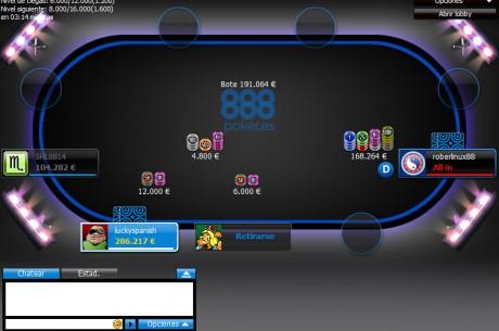 888poker.es: 8€ gratis, freerolls especiales, y todas las promociones de este mes