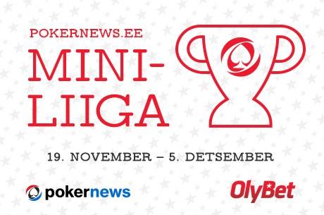 PokerNews Eesti miniliiga OlyBet pokkeritoas