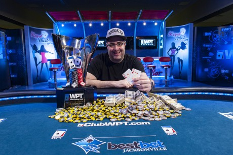 Jared Jaffee Wins World Poker Tour bestbet Jacksonville Fall Poker Scramble for $252,749