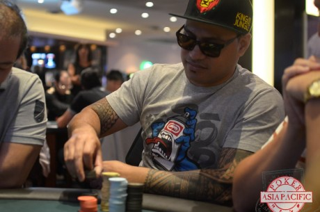 2013 PokerStars ANZPT Auckland Day 1b: Anesone Bragouits Takes the Lead
