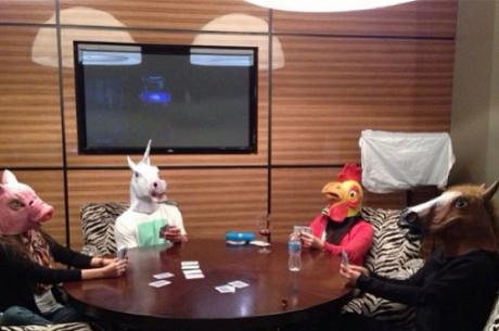 Na casa de Phil Ivey só Jogam Animais!
