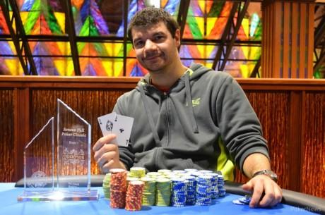 Rick Block Wins the Seneca Niagara Fall Poker Classic $500 No-Limit Hold'em Re-entry