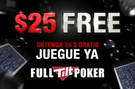 ¿Quieres $25 gratis para jugar en Full Tilt Poker?