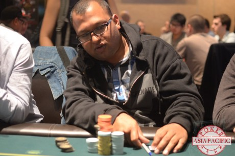 2013 PokerStars ANZPT Auckland Day 1c: Amant Nauhria Takes Overall Lead; 105 Advance