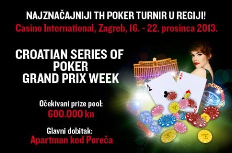 Danas Počinje CSOP Grand Prix Main Event u Zagrebu