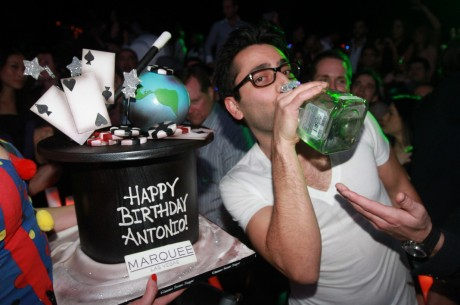 Antonio Esfandiari's 35th Birthday Celebration at Marquee Las Vegas on Dec. 13