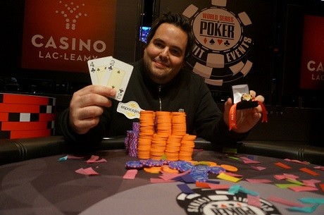 Charles Sylvestre Wins $122k at Lac-Leamy WSOP Circuit