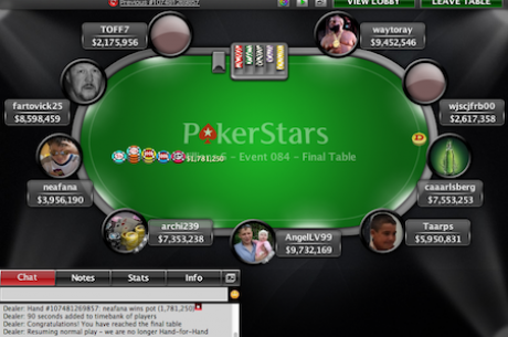 MicroMillions 6: TOFF7 Vence Evento #84 ($11,048)