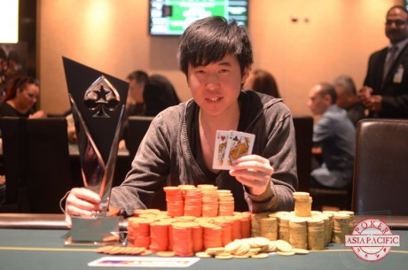 David Lim Wins 2013 PokerStars ANZPT Auckland