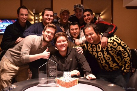 Andy Spears Goes Wire-to-Wire to Win 2013 Seneca Niagara Fall Poker Classic ($52,400)