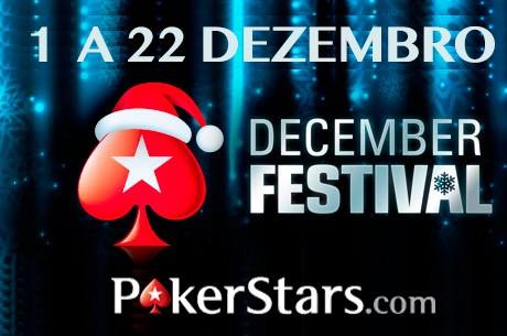 December Festival na PokerStars - $27.000.000 em Prémios!!