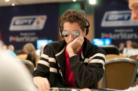 "Diogo ""Phounder"" Veiga Chip Leader do Dia 1 Main Event Estoril"