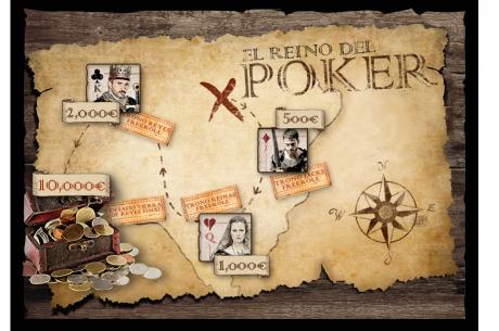 Alcanza el Reino del Póker y gana tu parte de los 28.000€ en juego con 888poker.es