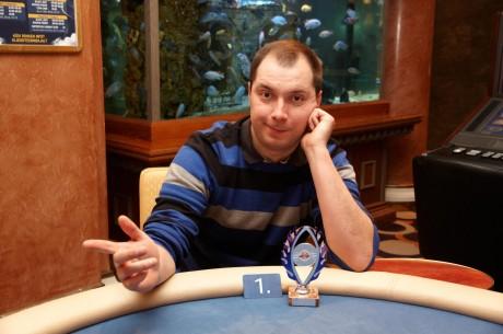 PokerNews Live'il võidutses baarman Robert Aigro