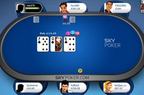 Sky Poker Looks to Attract News Players with Major Software Upgrade