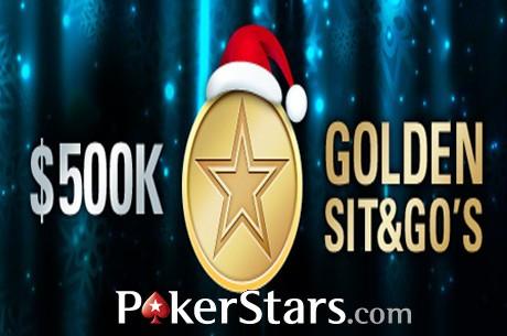 $500.000 em Jogo nos Golden Sit & Go's da PokerStars