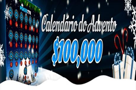 $100,000 em Prémios no Calendário do Advento da Poker770