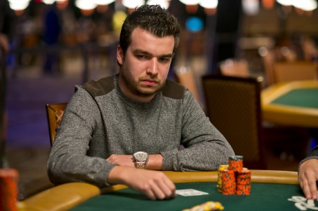 Chris Moorman Holds a Narrow Lead in the Worldwide Rankings