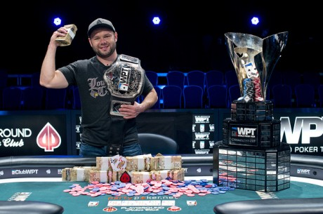 Derrick Rosenbarger Wins partypoker World Poker Tour Montreal for $500,824