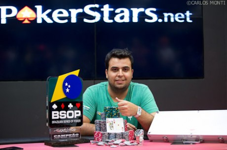 Murilo Ruiz Wins BSOP Millions Main Event for R$868,100