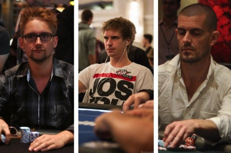The Online Railbird Report: Heinecker, Blom & Hansen Experience Million-Dollar Swings