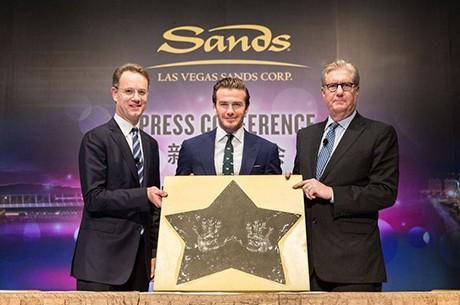 Дэвид Бекхэм теперь рекламирует Las Vegas Sands