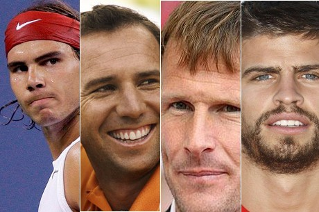 Rafael Nadal and Other Poker-Playing Sports Stars Auction Off Footwear for Charity