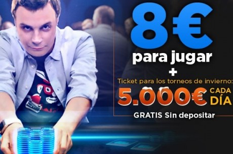 Esta Navidad juega los Torneos de Invierno de 888poker, 7 freerolls de 5.000€ te esperan!
