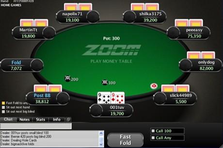 PokerStars вводит хэдз-ап Zoom