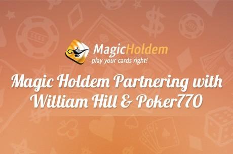 William Hill и Poker770 подписали соглашение с MagicHoldem