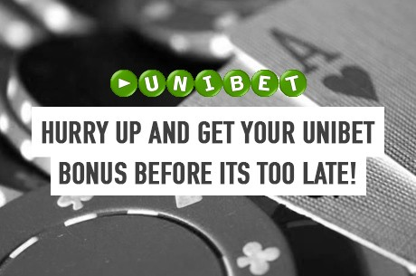 Hurry! Unibet Poker's Sign-up Bonus Ends on December 16th!