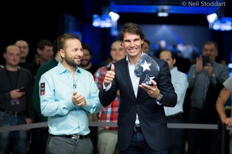 Rafa Nadal gana el PokerStars EPT Charity Challenge en su debut en un torneo en vivo