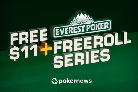 Ganha uma parte dos $1,000 em Jogo nos Freerolls Exclusivos PokrNews/Everest Poker