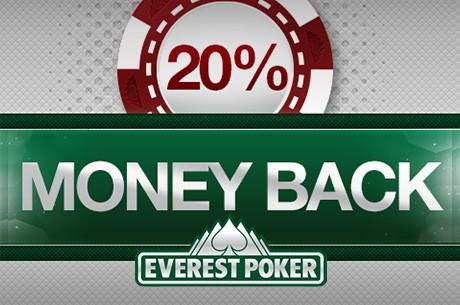 Recebe 20% de Money Back na Everest Poker em Dezembro