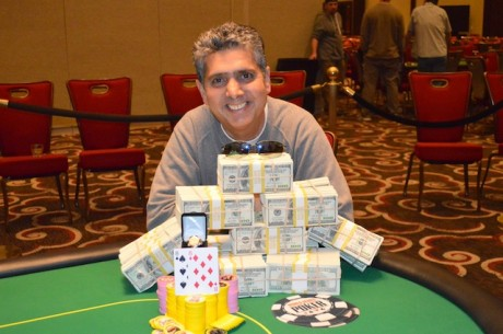 Shahin Edalatdju Wins World Series of Poker Circuit Harrah's Rincon for $166,325