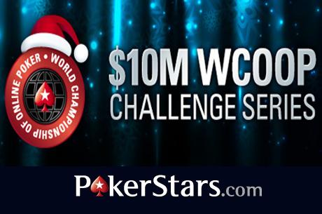 Arrancam Hoje as WCOOP Challenge Series na PokerStars