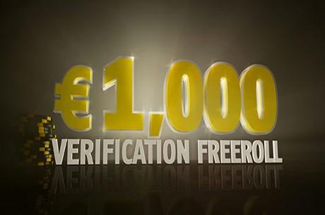 ¡Participa en un freeroll con 1.000€ en premios al verificar tu cuenta en Bwin.es!