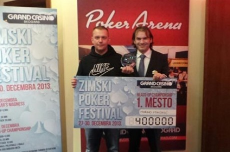 Marko Miković je Pobednik Heads Up Championship Eventa u Grand Casinu
