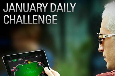 Jaanuari väljakutsed ja pakkumised PokerStarsi mängijatele
