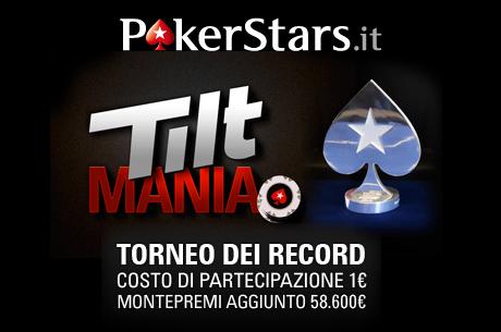 Torneo dei Record su PokerStars.it: 18.104 iscritti ed obiettivo raggiunto!